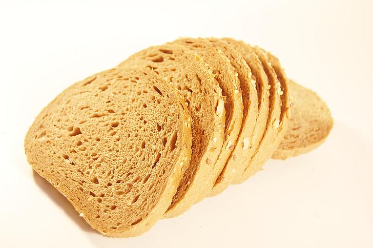 leib, söömine, Päts, toidu, värske, saiakesed, Hommikusöök