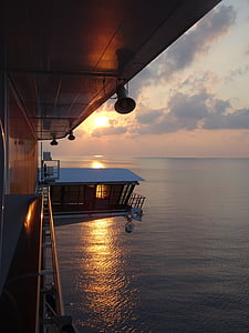 plavba, Já?, loď, Aida, výletní loď, paluba, slunce