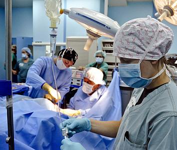 Chirurgie, Betrieb, Krankenhaus, OP-team, Medizin, Innenseite, Arzt