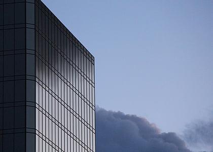 edifici, reflexió, Windows, edifici de negocis, negoci, Oficina, ciutat