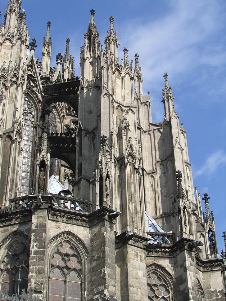 Kastil Cologne, Cologne, Dom, bangunan, arsitektur, Monumen, Landmark
