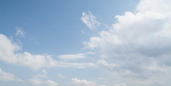 pilvi, taivas, sininen, Luonto, Sää, päivä, Ilmastointi