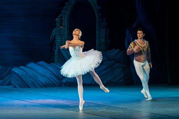 балет, Лебединое озеро, Балерина, танец, Лебедь, элегантность, озеро