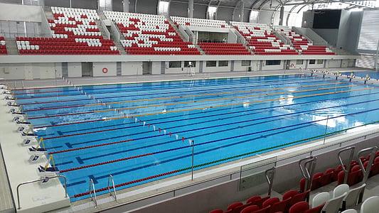 Olympia-Schwimmhalle, Watersport, Schwimmen, Formatierung, Schwimmen, Sport, Wettbewerb