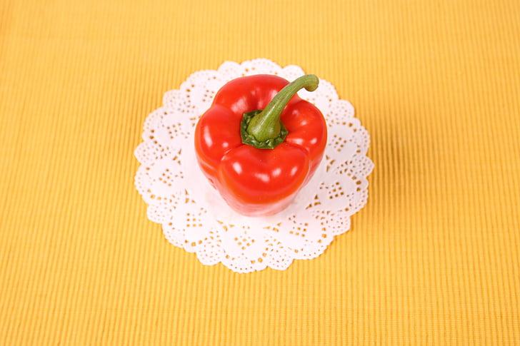 paprika, roheline paprika, punane paprika, oranž paprika, köögiviljad, taimne, Dieet