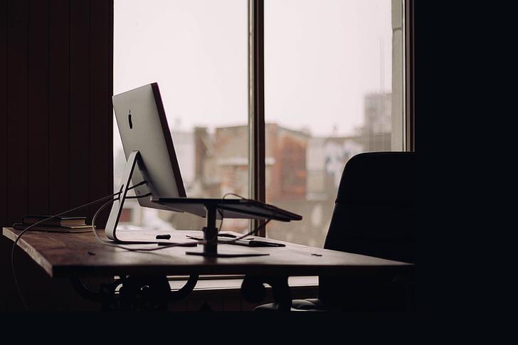 Office, kancelária, Apple, Mac, počítač, iPad, Technológia