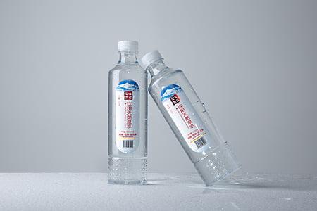仍然矿泉水, 瓶, 摄影, 原始, 饮料, 塑料, 喝水
