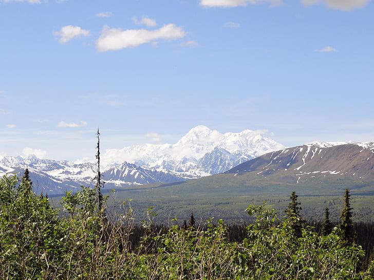 Mont mckinley, muntanya, Alaska, Denali