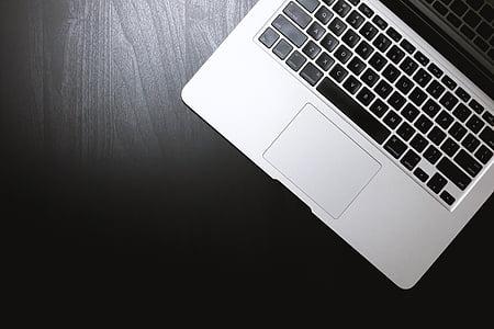แล็ปท็อป, macbook, แอปเปิ้ล, โน๊ตบุ๊ค, ทำงาน, ตารางการทำงาน, ตาราง