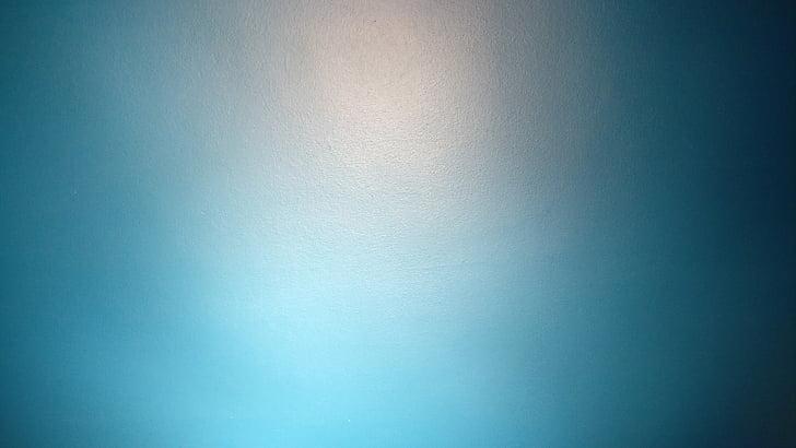 paret, llum, curs, color, blau, turquesa, fons