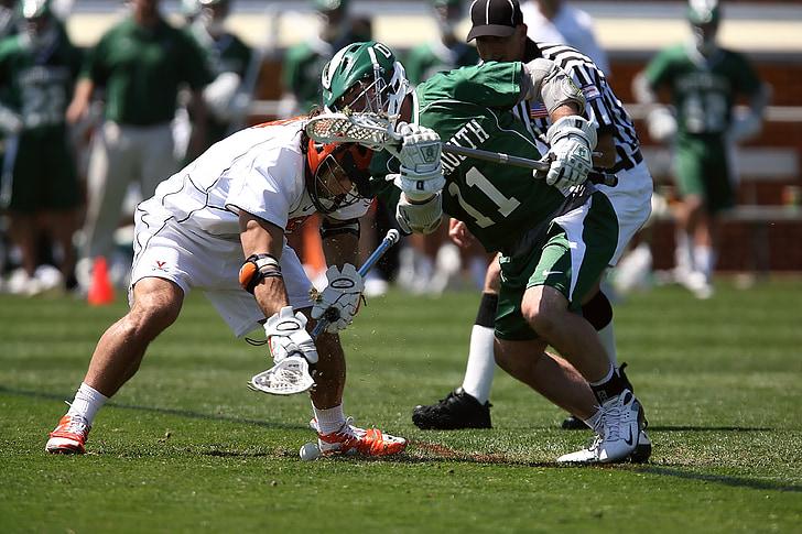 Lacrosse als Jocs, repte, competir, competència, acció, Atletisme, casc