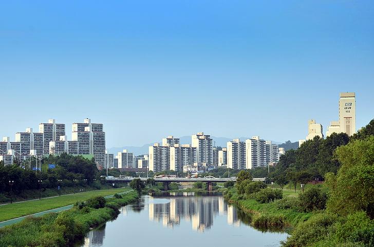 tancheon, Apartamentai, Miestas, Gil, Harmonija, kraštovaizdžio