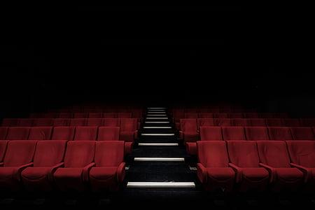 auditorium, stadium, bench, chairs, inside, seats, theater