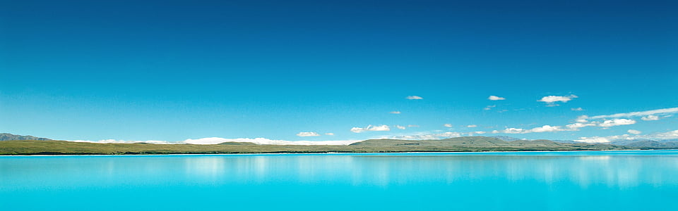 Natur, Wasser, Laguna, Blau, Meer, Ozean, Panorama