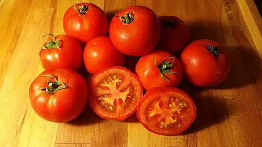 paradicsom, friss, egészséges, gyümölcs