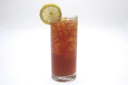 jäätee, klaas, jook, kosutust, sidruni viil, lahe, vedelik