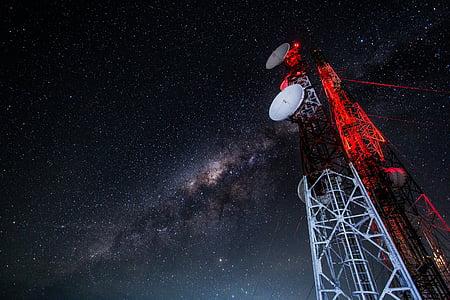 타워, 안테나, 기술, 통신, 모바일, 휴대, 라디오