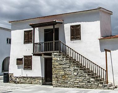 Cypr, Kiti, stary dom, wieś, Architektura, tradycyjne