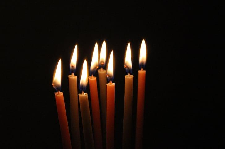 ánh sáng ngọn nến, tối, nến, Trang trí, Lễ kỷ niệm, tâm linh