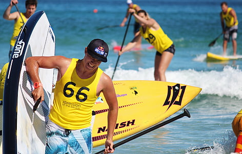stand up paddling, sup, paddle board, water sports, competition, water, sea