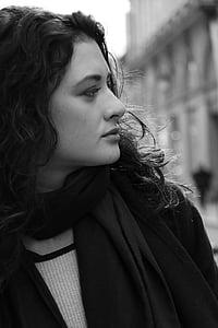 woman, young woman, model, beautiful, paris, beauty, face
