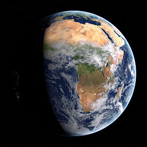 earth, space, cosmos, solar, world, planet, orbit