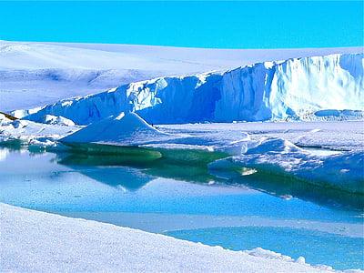 icebergs, ice, antarctica, iceberg, antarctic, majestic, natural