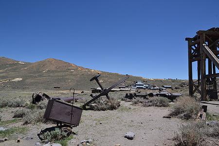 aavekaupunki, kullankaivaja, Jätä, yksinäisyys, Arizona, Yhdysvallat, Utah