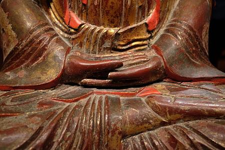 Buda assegut, Zen, meditació, serenitat, saviesa, filosofia, budista