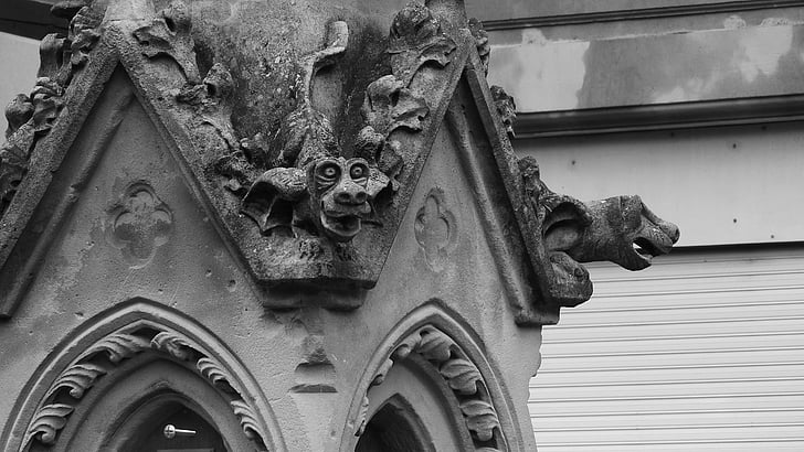 Free Photo Gargoyles Gothic France Stone Carvings Architecture