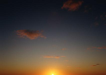 το τοπίο, ηλιοβασίλεμα, ημέρα, πορτοκαλί, βραδινό ουρανό, πορτοκαλί ουρανό, Ειδήσεις βραδιού
