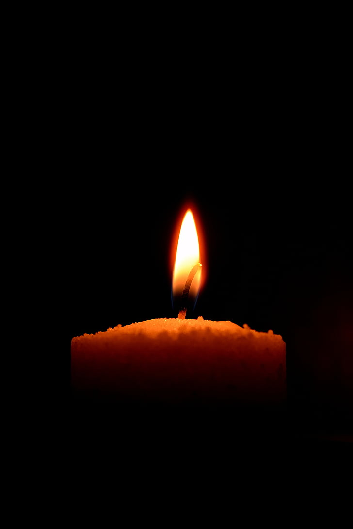 põletada, põlenud, küünal, küünlavalgel, Suurendus:, tume, varjukülg