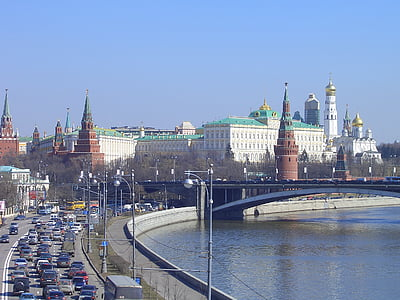 moscow, kremlin, river, capital, russia, famous Place, architecture