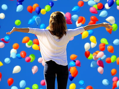 say yes to the live, joy, lust for life, frohsinn, satisfaction, self confidence, self-confidence