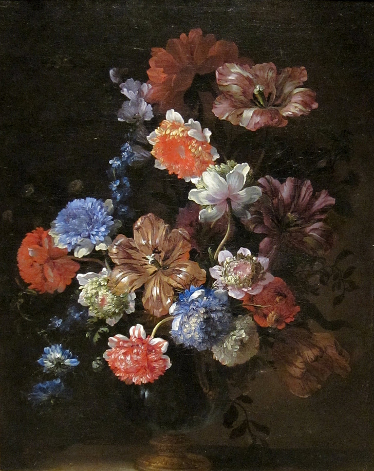Jean-baptiste monnoyer, Art, pintura, oli sobre tela, artística, l'art, bodegons