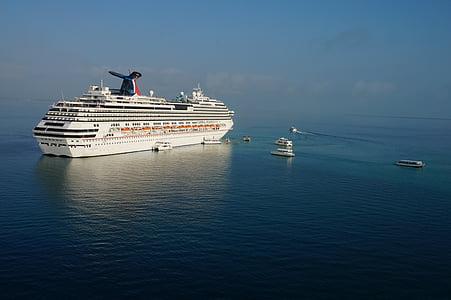 kryssning, Ocean, havet, resor, semester, vatten, fartyg