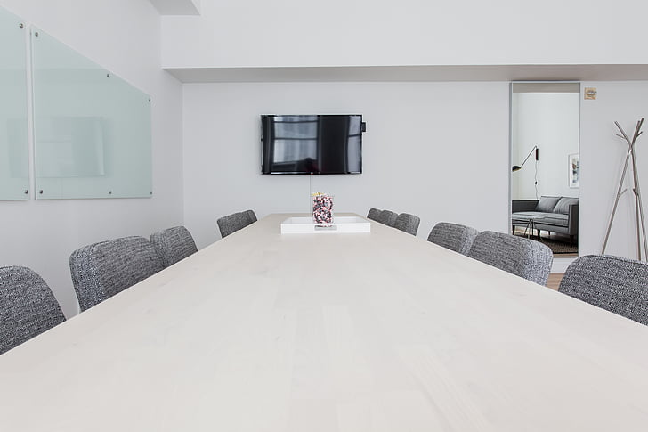 cadires, sala de conferències, mobles, l'interior, disseny d'interiors, mirall, Oficina