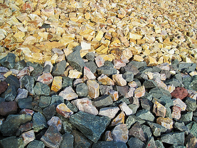 grus, steiner, farget, konstruksjon, materiale, tekstur, småstein