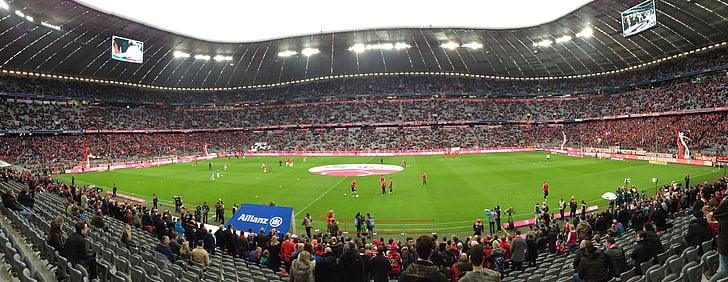 Allianz arena, Bayern de Munic, Estadi, Estadi de futbol, Partit de futbol