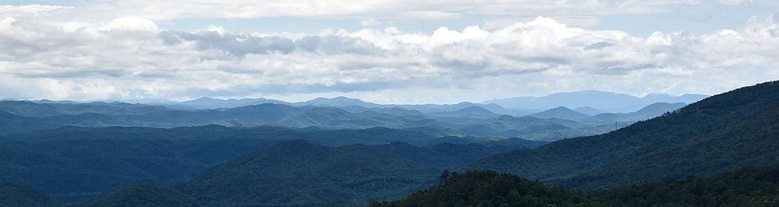 landskap, bergen, naturen, bergslandskap, grön, vacker natur, resor