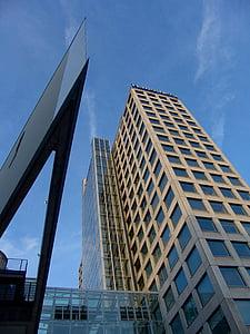 arhitektuur, Tower, hoone, Dortmund, pilvelõhkuja, Office, büroohoone