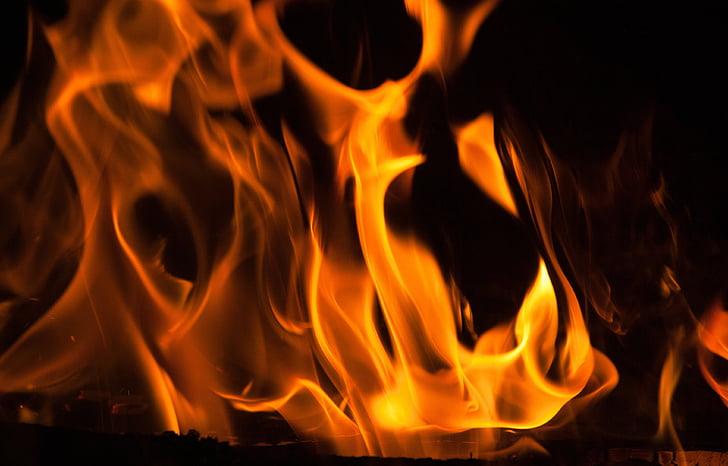 tulekahju, tuld, kamin, soojuse, Fire - loodusnähtusest, leek, soojuse - temperatuuri