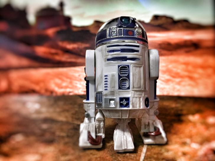 hračka, Robot, Star wars, objekt, obrázek, malý robot, malá hračka