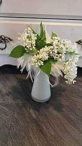 spring, lilies of the valley, bouquet, flower, white