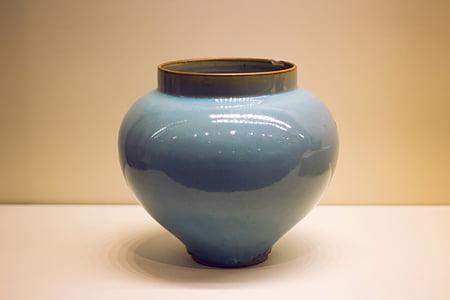 natura morta, Museo, ceramiche, in porcellana, ceramiche, vaso, terracotta