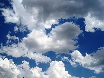 pilvet, taivas, sininen, Sää, Ilmastointi, päivä, ympäristö