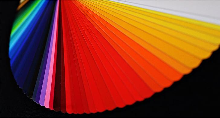 цвят на вентилатора, избор на цвят, цвят, цветова палитра, диапазон, цветни, да разпали
