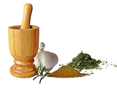 vữa, gia vị, đầu của tỏi, thì là Ai Cập, rau oregano