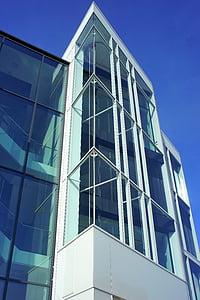 arhitektuur, kaasaegne, City, Moodne arhitektuur, hoone, lamekatuse ehitus, Avaleht