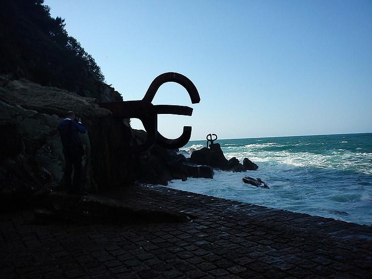 san sebastian, sea, basque country